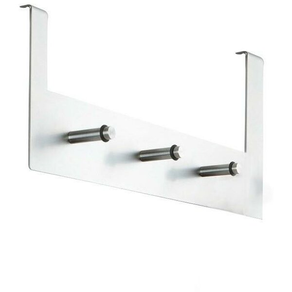 Steel Over-the-Door Robe Hook by AGM Home Store
