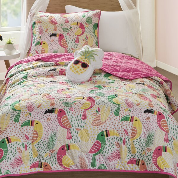 Heacock Reversible Coverlet Set by Zoomie Kids