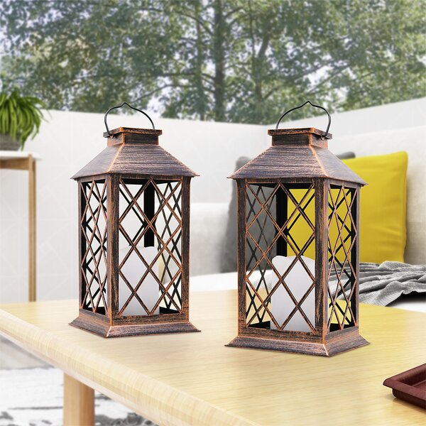 Rustic Electric Lantern Wayfair