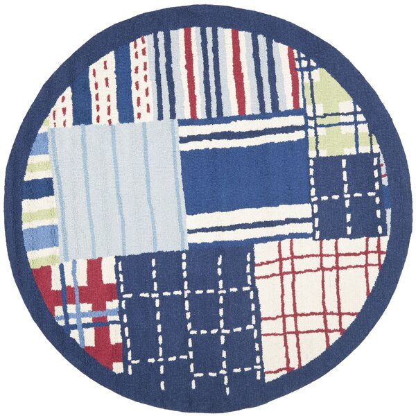 Kids Hand-Tufted Blue Area Rug by Safavieh