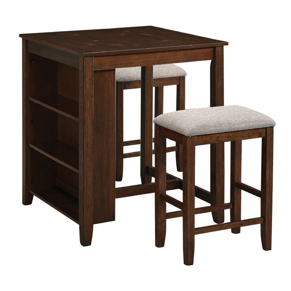Regal 3 Piece Counter Height Dining Set By OSP Designs
