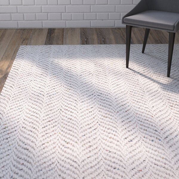 Sigrid Hand-Woven Ivory Area Rug by Union Rustic