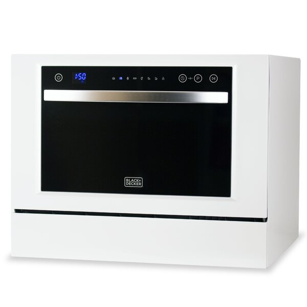 21 5 Countertop Dishwasher By Black Decker.