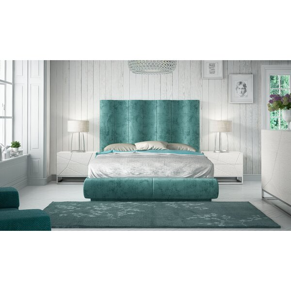 Jerri King Platform 3 Piece Bedroom Set by Everly Quinn