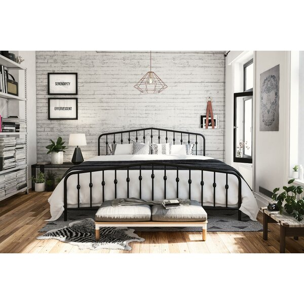 Great price Bushwick Platform Bed By Novogratz Herry Up