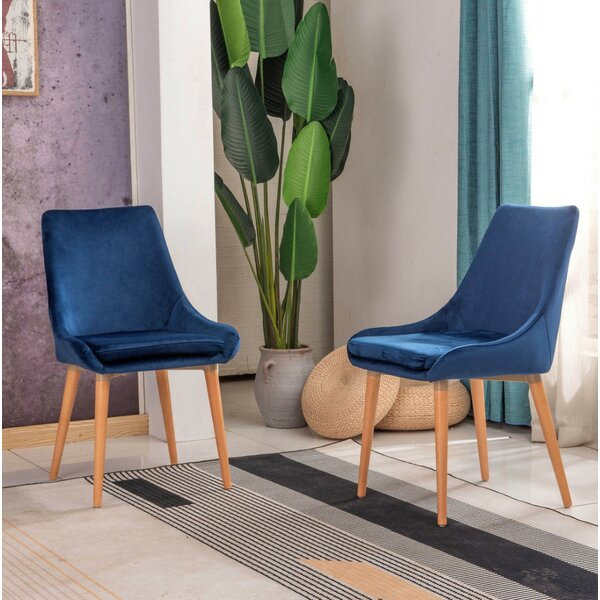 Davison Upholstered Dining Chair (Set Of 2) By Mercer41