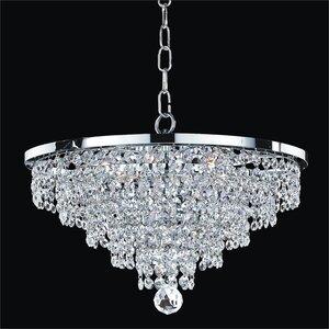 Thorpe 6-Light Crystal Chandelier