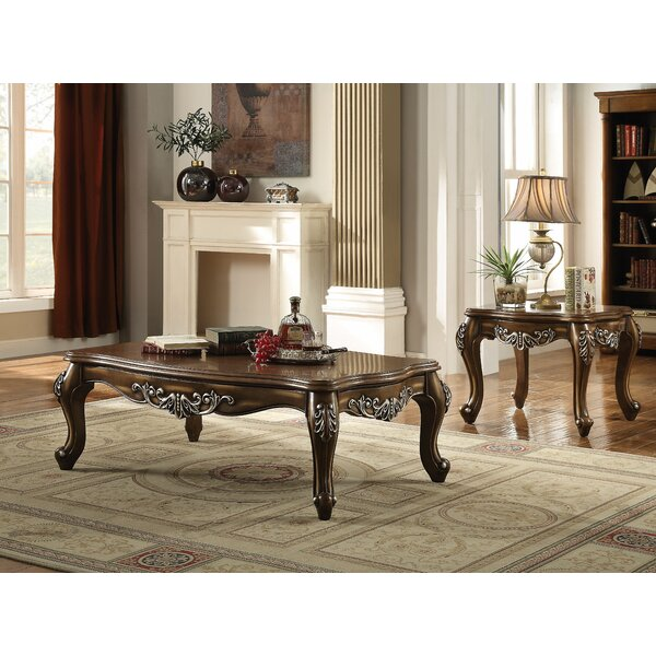 Mccloud 2 Piece Coffee Table Set
