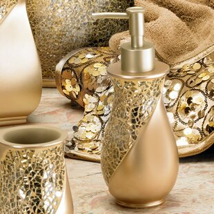 Buy luxury Rivet Champagne Gold Lotion Dispenser ByWilla Arlo Interiors