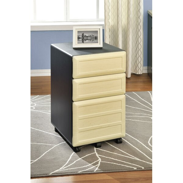 Bataan 3-Drawer Mobile File Cabinet by Red Barrel Studio