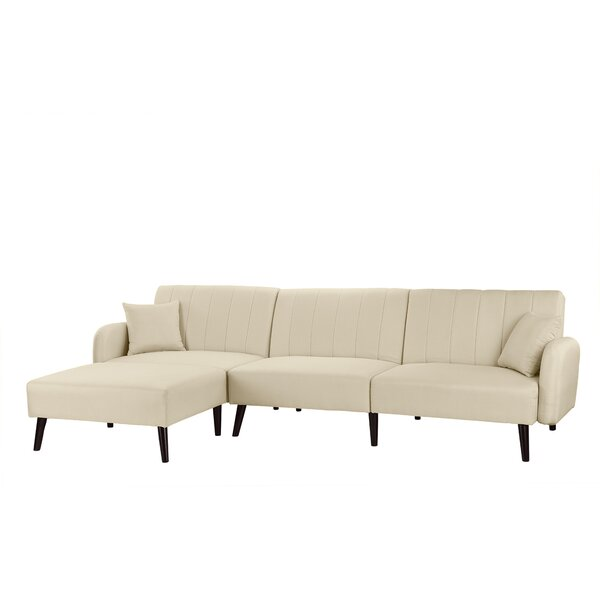Bethzy Reversible Sectional by Ebern Designs