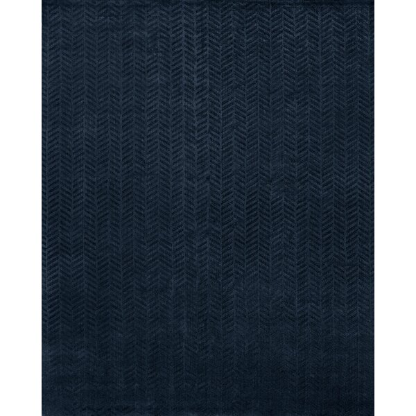 Handwoven Blue Area Rug by Wildon Home ®