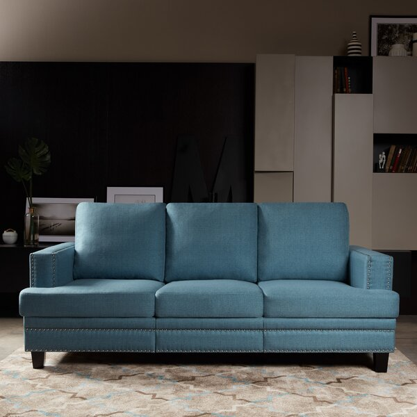 Shop Pre-loved Designer Bordelon Sofa by House of Hampton by House of Hampton