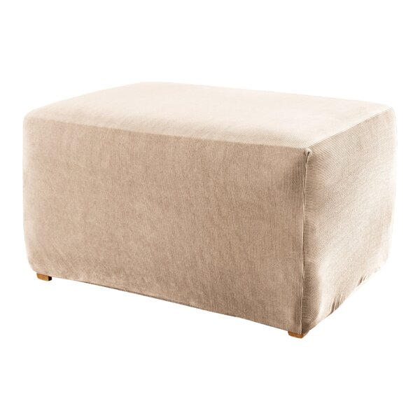 Stretch Stripe Ottoman Slipcover by Sure Fit