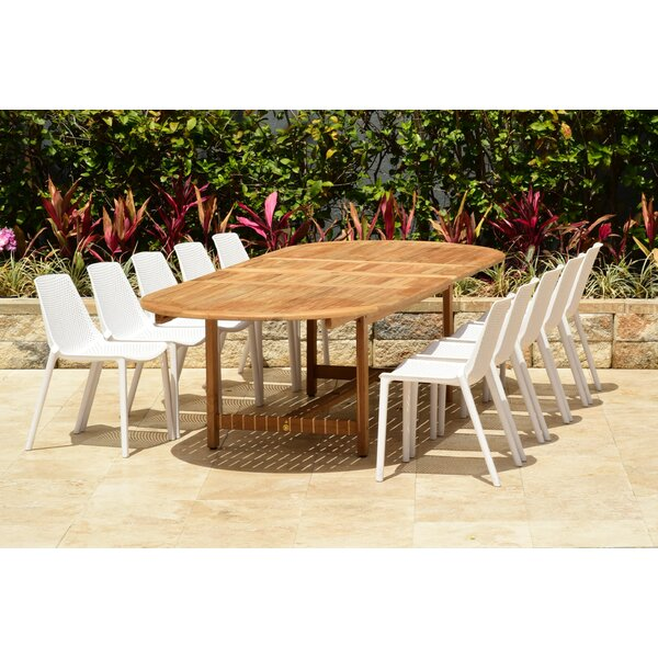 Sannois 11 Piece Dining Set by Brayden Studio