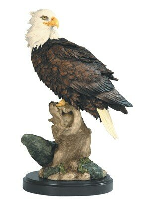 Winquist Eagle Foraging Figurine by Loon Peak