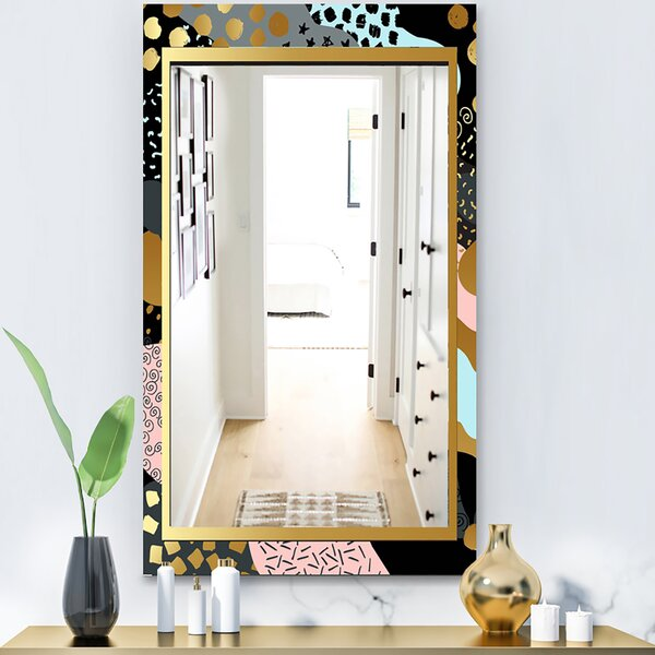 Playful Glam Accent Mirror