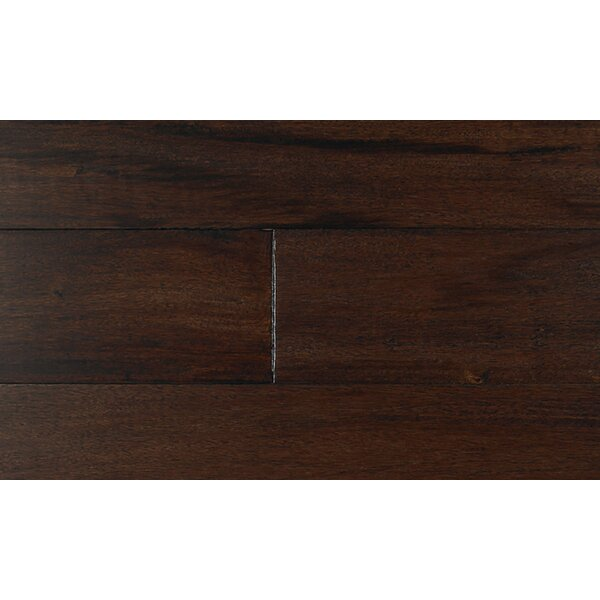5 Engineered Tigerwood Hardwood Flooring in Black by IndusParquet