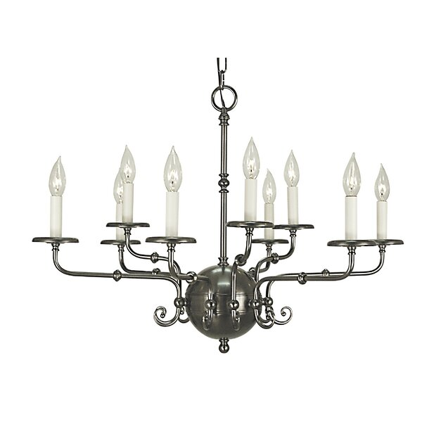 Jovan 9-Light Candle Style Tiered Chandelier by Darby Home Co Darby Home Co