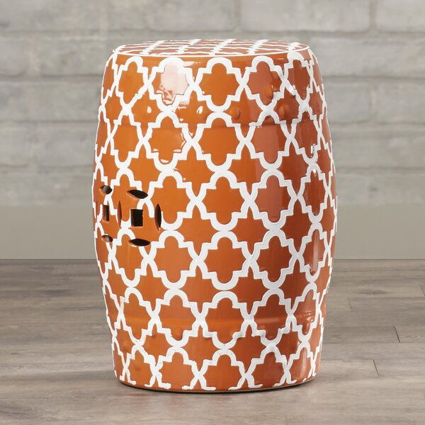 Hosea Ceramic Garden Stool by Zipcode Design