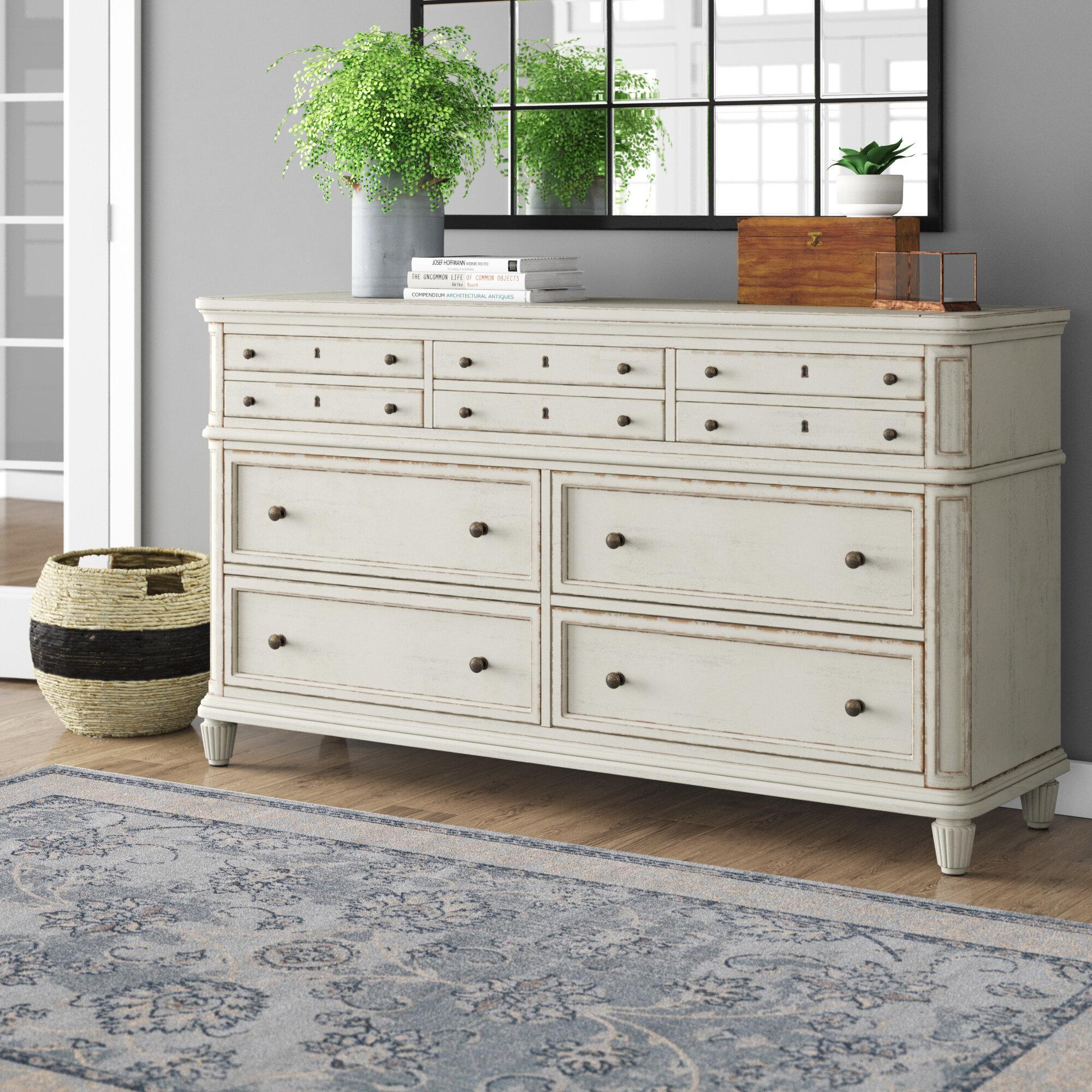 Birch Lane Henrietta 7 Drawer Standard Dresser Reviews Wayfair