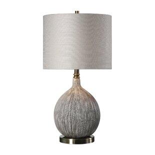 Where buy  Stefan Textured 27 Table Lamp By Corrigan Studio