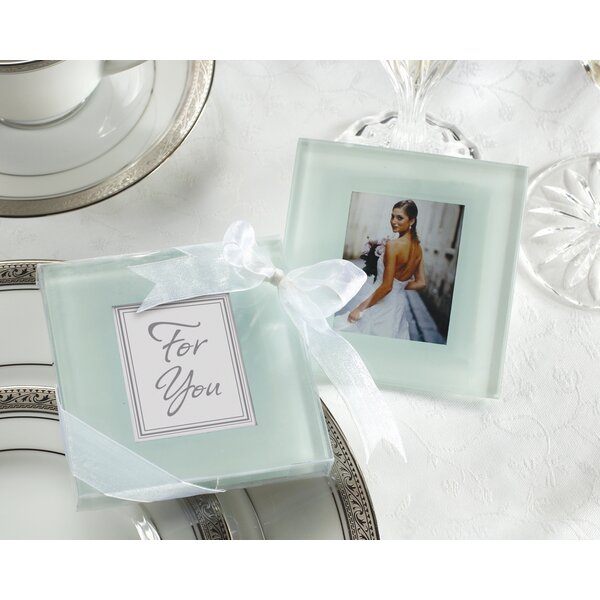 Forever Photo Coaster (Set of 12) by Charlton Home
