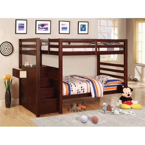 Orson Twin Over Twin Bunk Bed With Drawers By Hokku Designs