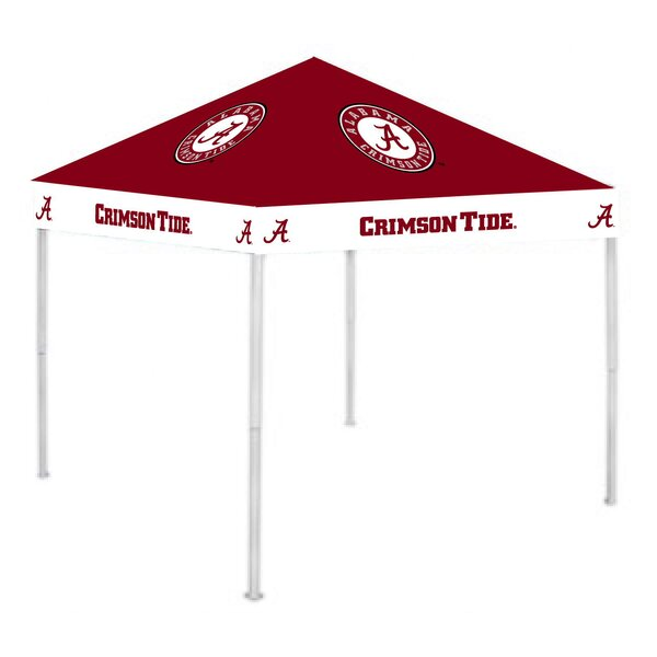 NCAA 9 Ft. W x 9 Ft. D Steel Pop-Up Canopy by Rivalry