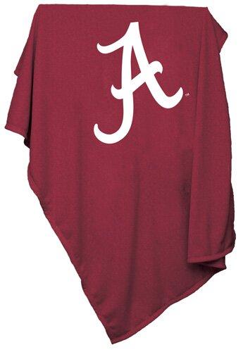 NCAA Team Sweatshirt Blanket by Logo Brands