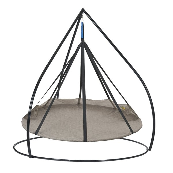 Flying Saucer Chair Hammock with Stand by Flowerhouse Flowerhouse
