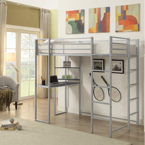 West Boylston Contemporary Twin Bunk Configuration Bed with Ladders by Zoomie Kids
