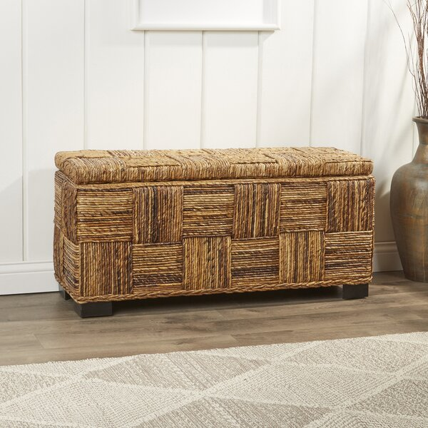 Colebrook Woven Storage Bench by Birch Lane™