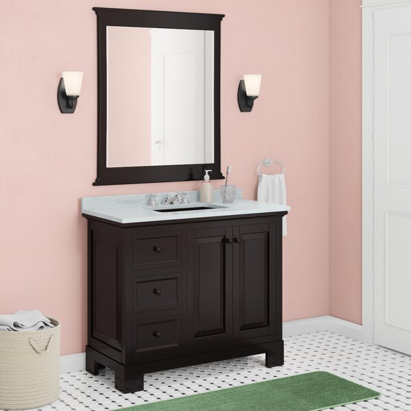 Cothern 42 Single Bathroom Vanity Set with Mirror by Red Barrel Studio