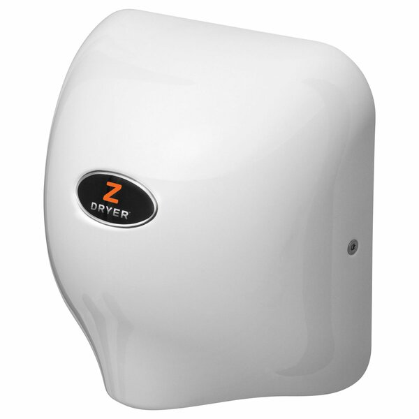 Commercial Hand Dryer in White by zDryer