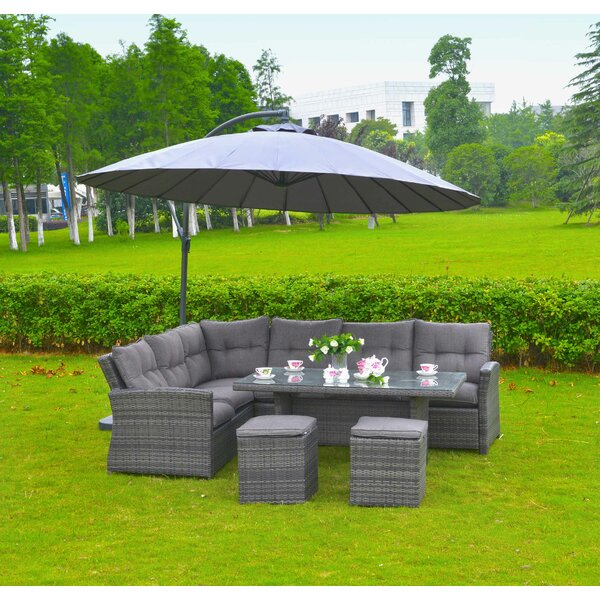 Lima 5 Piece Sectional Set by Mano Patio
