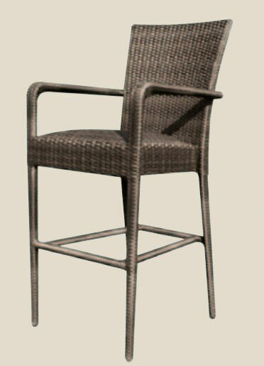 All-Weather 24 Patio Bar Stool by Woodard