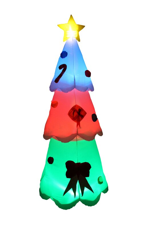 led color changing christmas tree inflatable - Color Changing Led Christmas Tree