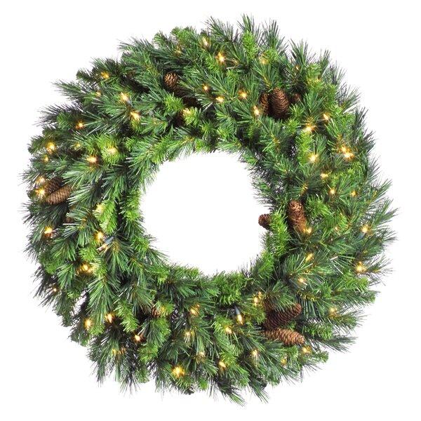 Christmas Wreath.Artificial Christmas 42 Pine Wreath