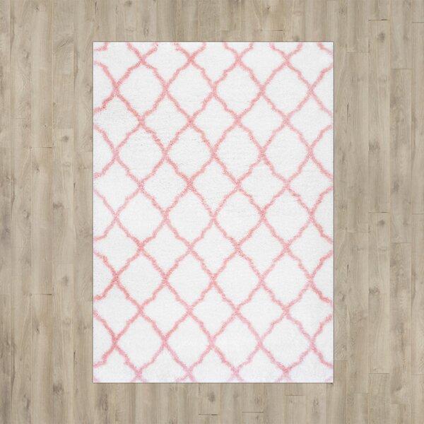 Kellie Baby Pink Indoor Area Rug by Viv + Rae