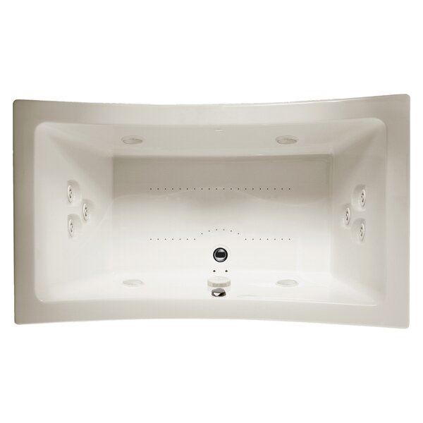 Allusion 72 x 42 Drop In Salon Bathtub by Jacuzzi®