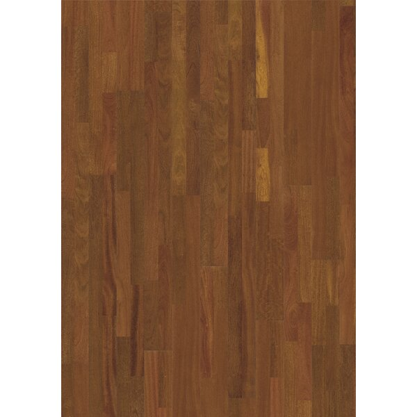 World 7-7/8 Engineered Brazilian Cherry Hardwood Flooring in Jatoba Brasilia by Kahrs