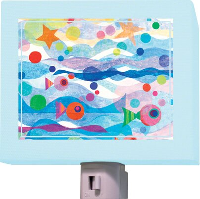 Starry Sea Night Light by Oopsy Daisy