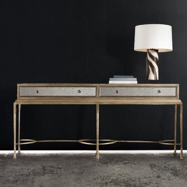 Melange Reflections Console Table by Hooker Furniture