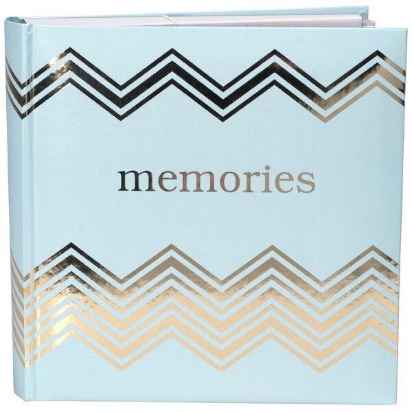 Memories Gold and Teal Picture Album by Malden