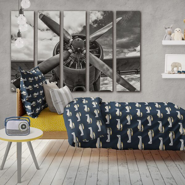 Reid-Spaulding Airplane Single Duvet Cover