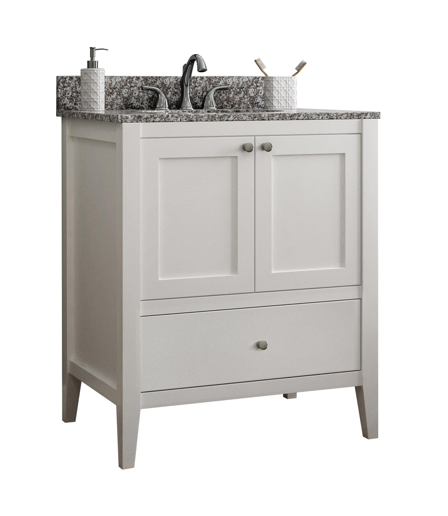 Cnc Cabinetry Vanguard 24 Single Bathroom Vanity Base Only