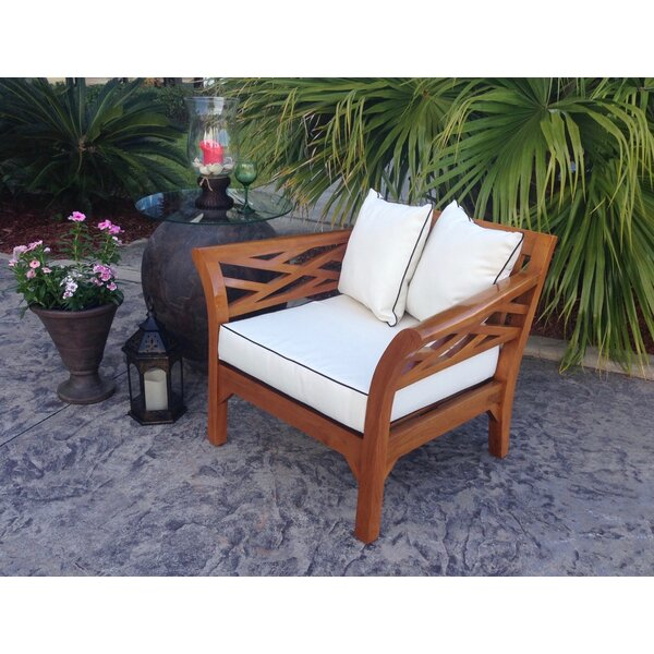 Long Island Teak Chair with Cushion by Chic Teak