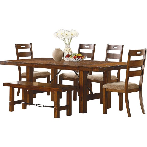South Bross 6 Piece Dining Set by Loon Peak