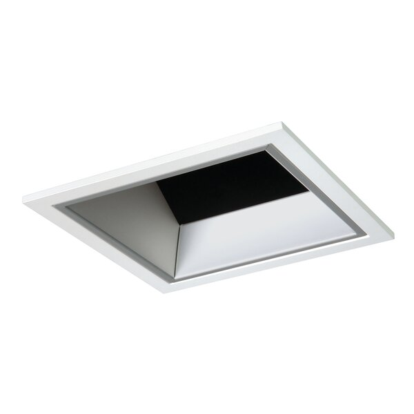 Square LED Self Flanged 4 Reflector Recessed Trim by Cooper Lighting